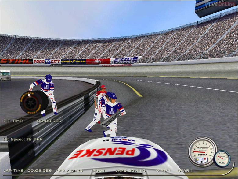 NASCAR 2000 PC Gry Screen 5/6, EA Sports, Electronic Arts Inc.