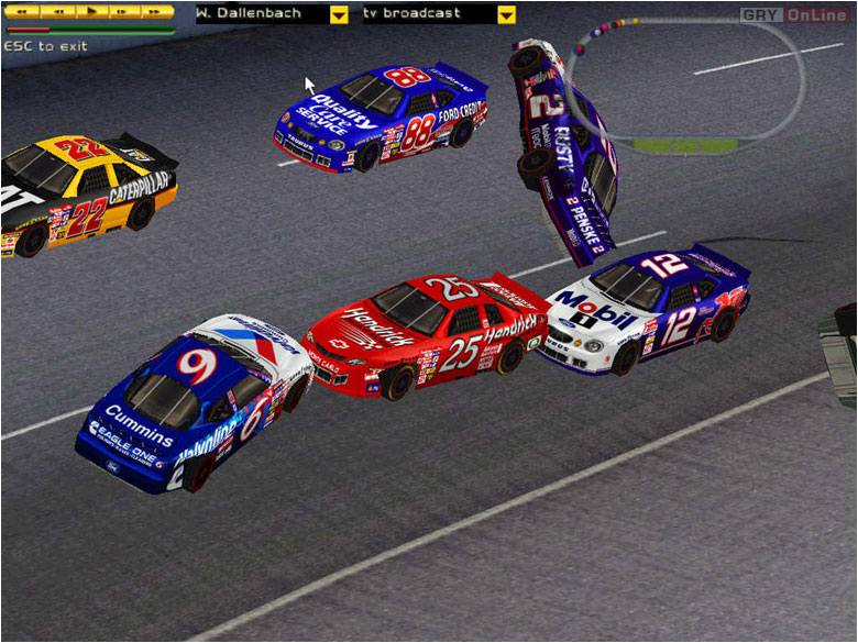NASCAR 2000 PC Gry Screen 1/6, EA Sports, Electronic Arts Inc.