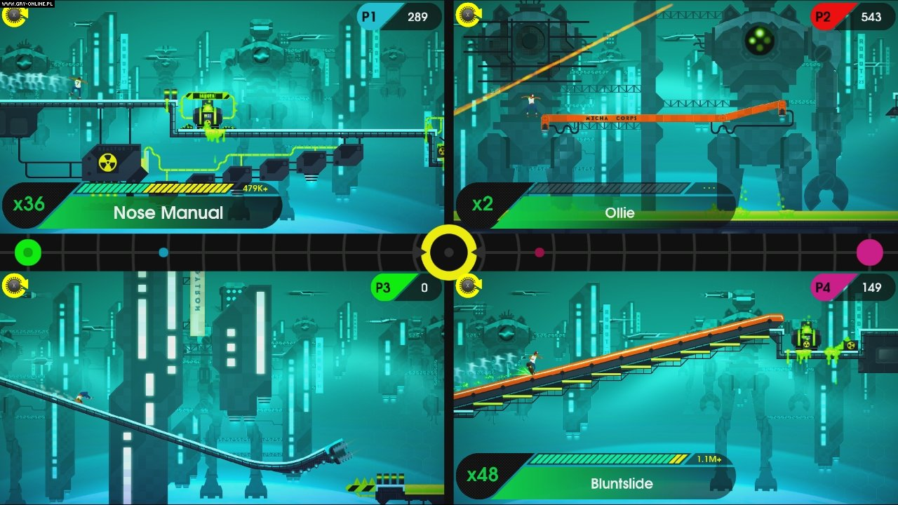 OlliOlli: Switch Stance Switch Games Image 4/6, Roll7, Good Shepherd Entertainment / Gambitious