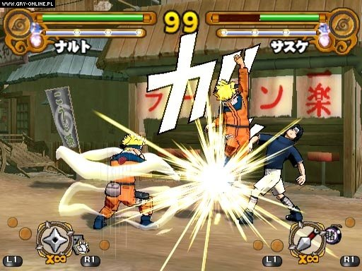 Naruto: Ultimate Ninja 3 PS2 Gry Screen 8/17, Cyberconnect2, Bandai Namco Entertainment