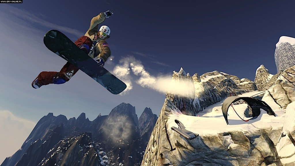 SSX X360, PS3 Gry Screen 7/54, EA Sports, Electronic Arts Inc.