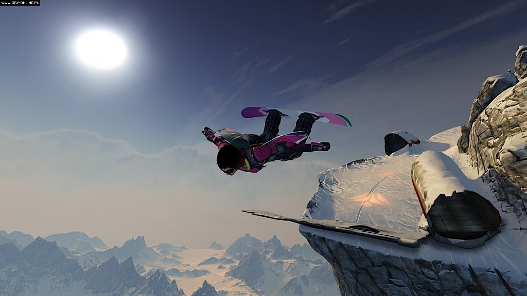 SSX X360, PS3 Gry Screen 3/54, EA Sports, Electronic Arts Inc.