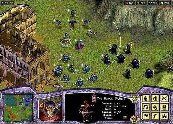 Warlords: Battlecry PC Gry Screen 1/6, Strategic Studies Group, Mattel Interactive