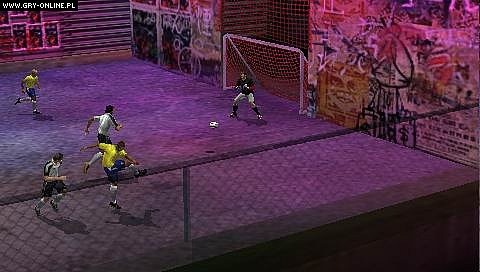 FIFA Street 2 PSP Gry Screen 3/62, EA Sport Big, Electronic Arts Inc.