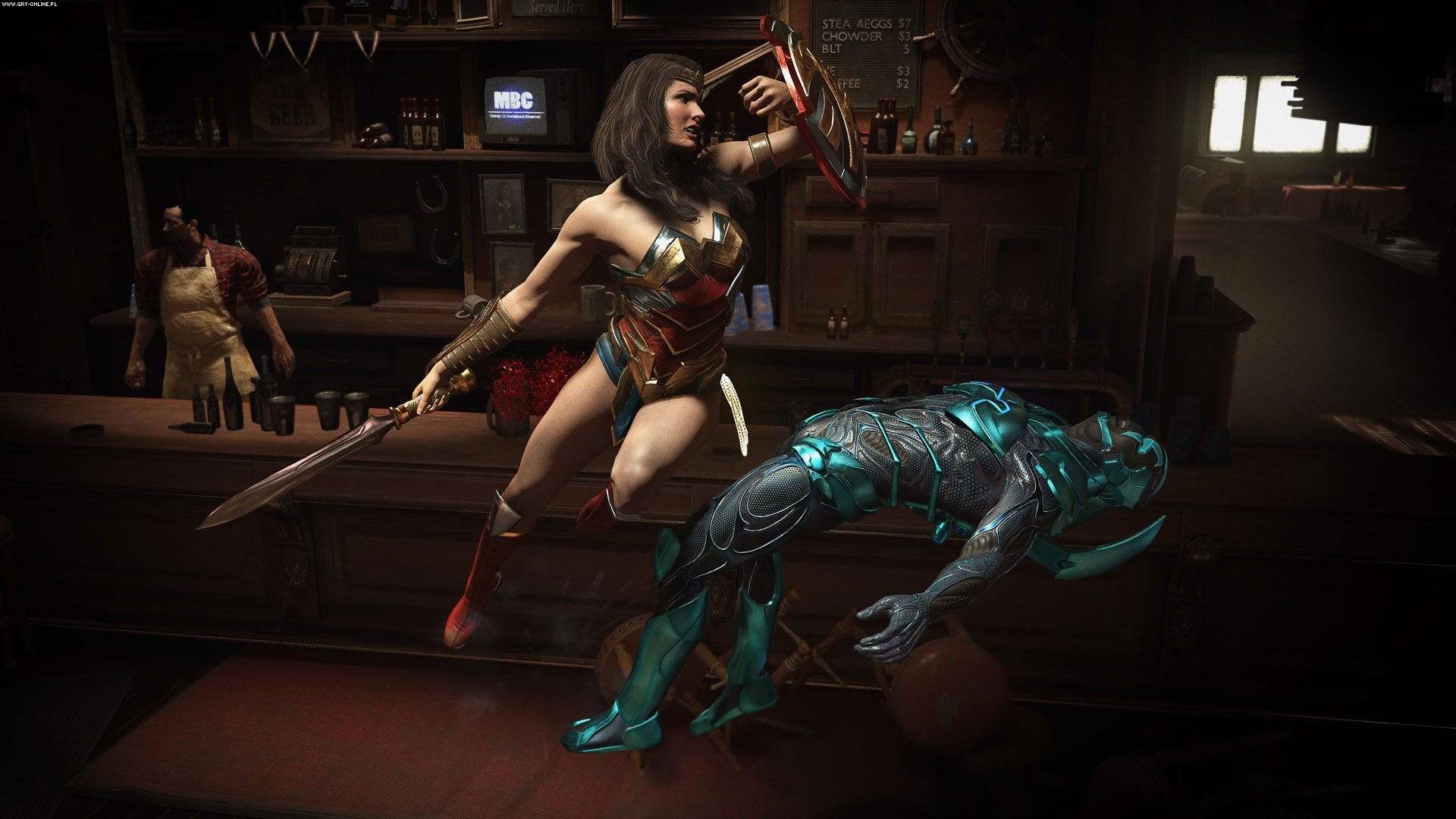 Injustice 2: Legendary Edition PC, PS4, XONE Gry Screen 2/10, NetherRealm Studios , Warner Bros. Interactive Entertainment
