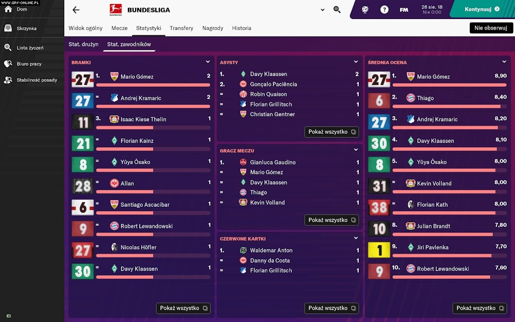 Football Manager Touch 2019 - screenshots gallery