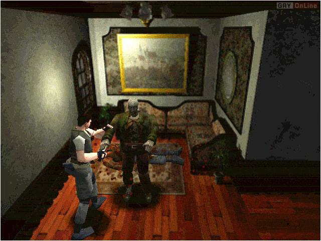Resident Evil PC Gry Screen 4/15, Capcom, Virgin Interactive