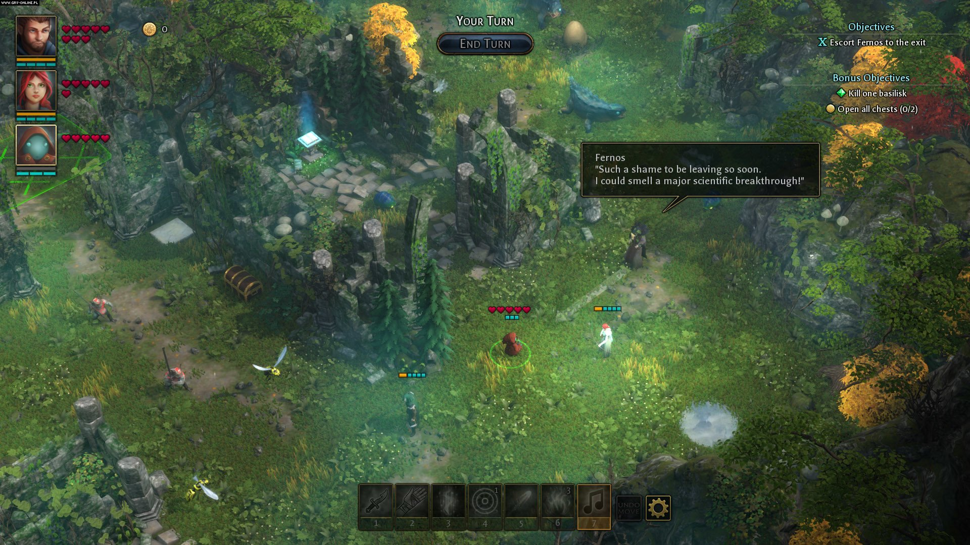 Druidstone: The Secret of the Menhir Forest PC Gry Screen 10/16, Ctrl Alt Ninja