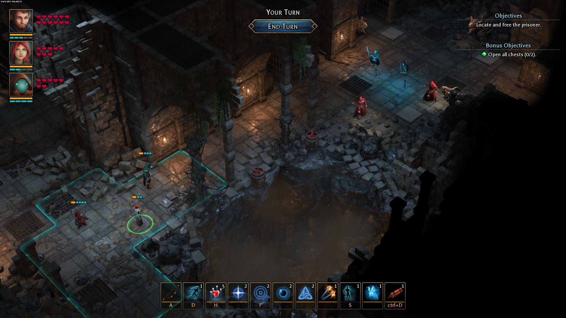 Druidstone: The Secret of the Menhir Forest PC Gry Screen 8/16, Ctrl Alt Ninja
