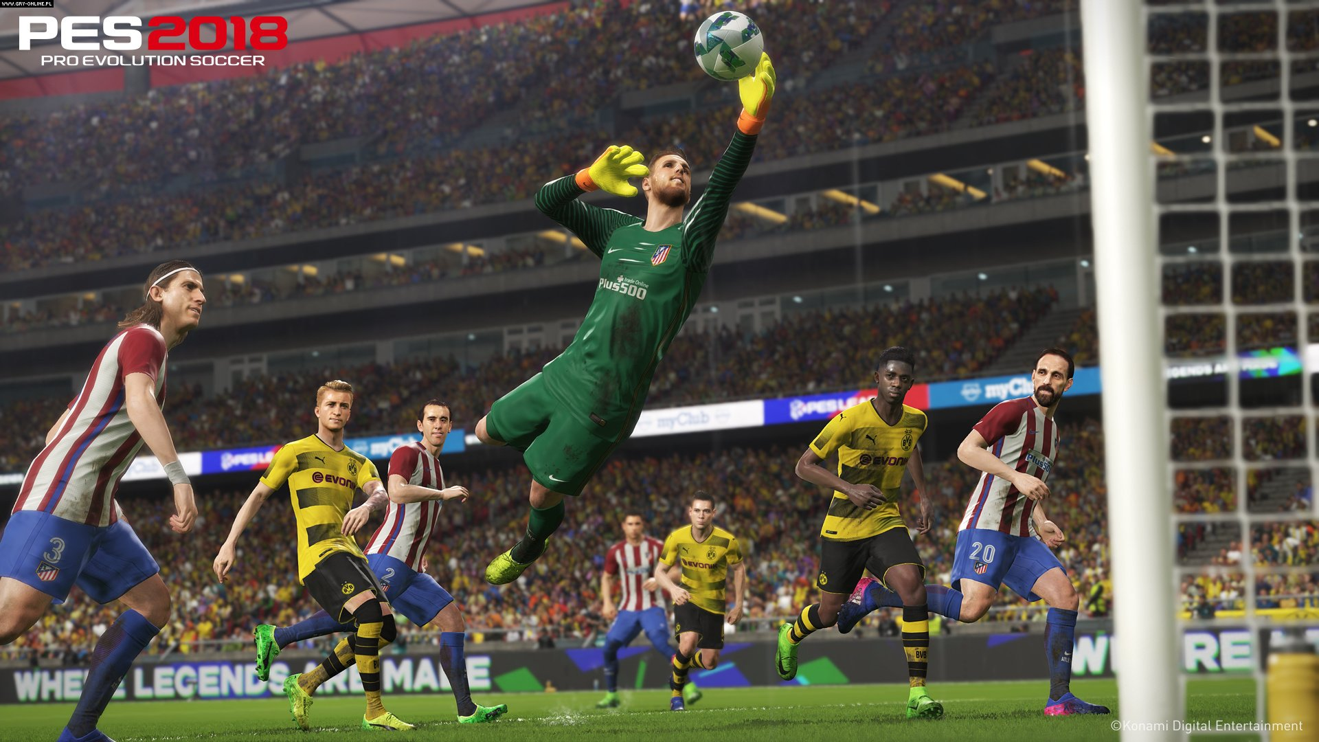 Pro Evolution Soccer 2018 PC, PS4, XONE Games Image 1/11, Konami