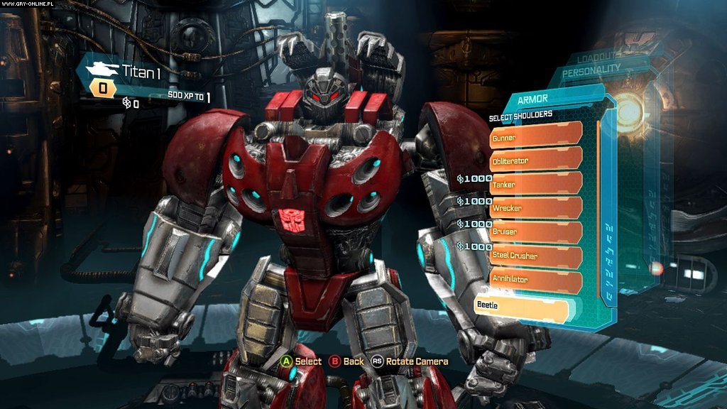 Transformers: Upadek Cybertronu PC, X360, PS3 Gry Screen 5/136, High Moon Studios, Activision Blizzard