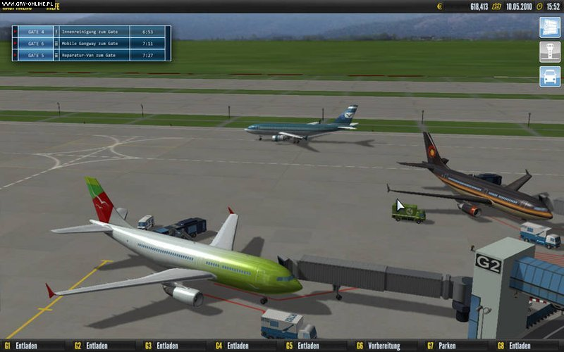 airport games online