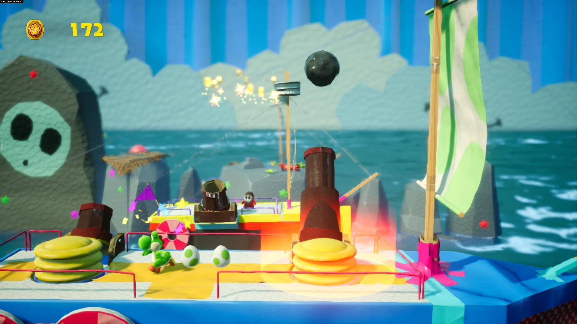 Yoshi's Crafted World Switch Gry Screen 21/24, Good-Feel, Nintendo