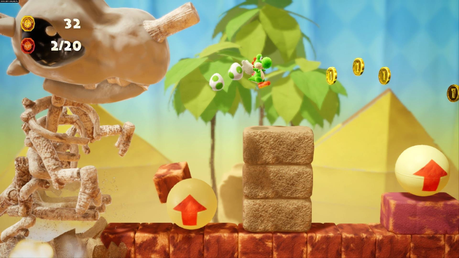 Yoshi's Crafted World Switch Gry Screen 14/24, Good-Feel, Nintendo