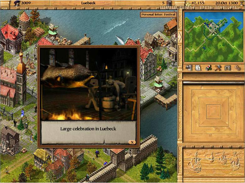 Patrician III: Rise of the Hanse PC Gry Screen 8/17, Ascaron Software