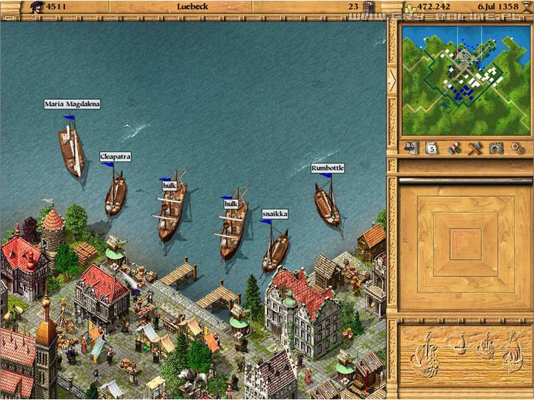 Patrician III: Rise of the Hanse PC Gry Screen 2/17, Ascaron Software
