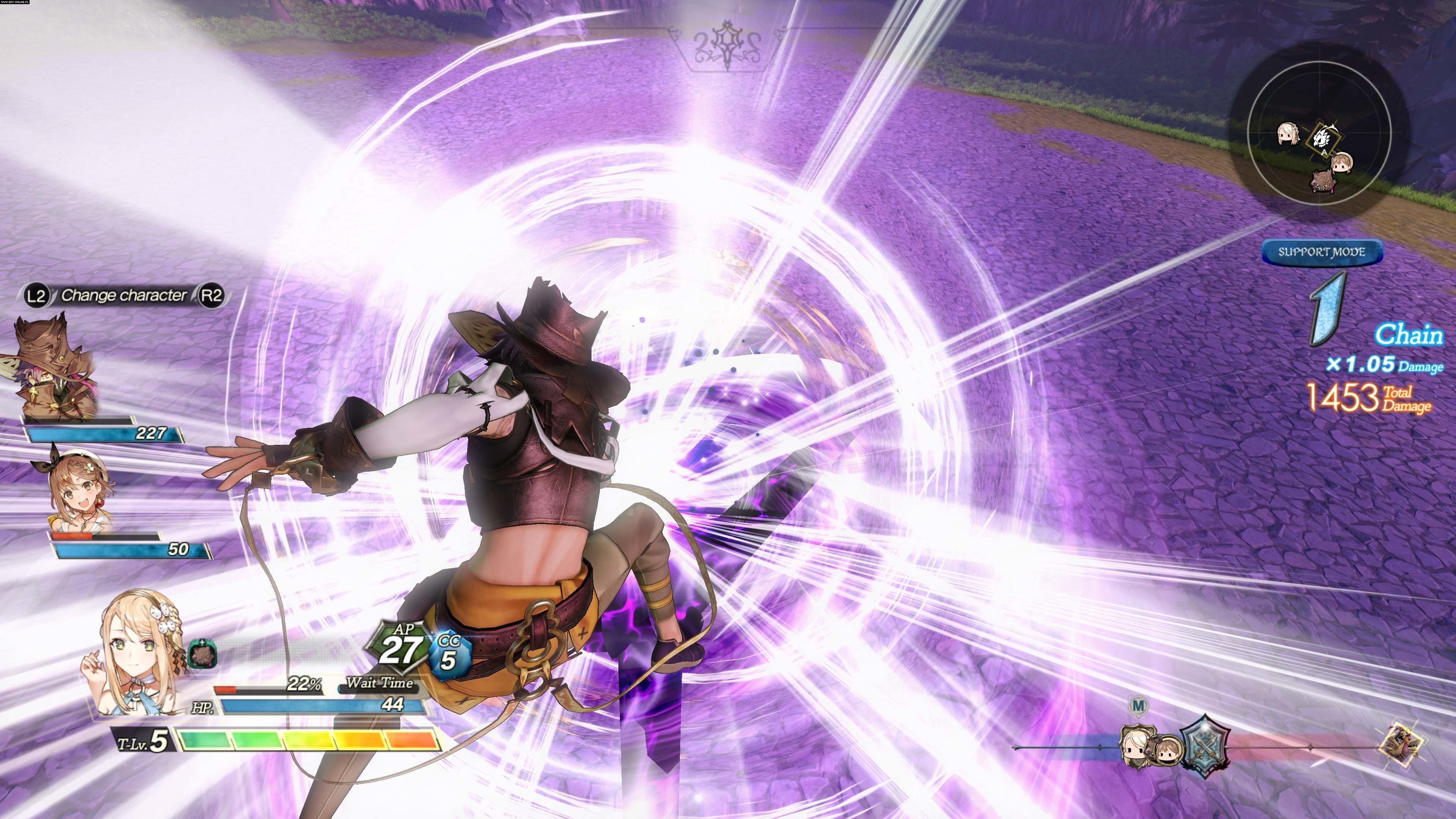 Atelier Ryza 2: Lost Legends & the Secret Fairy PC gameplay.