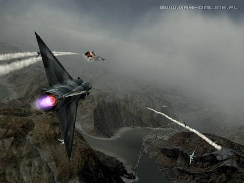 Ace Combat: Squadron Leader PS2 Gry Screen 3/39, Bandai Namco Entertainment