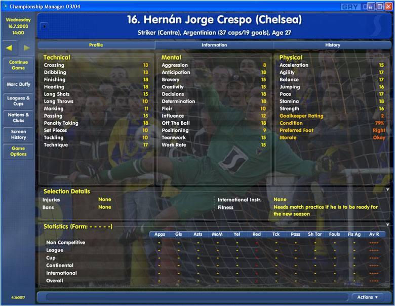 eidos championship manager