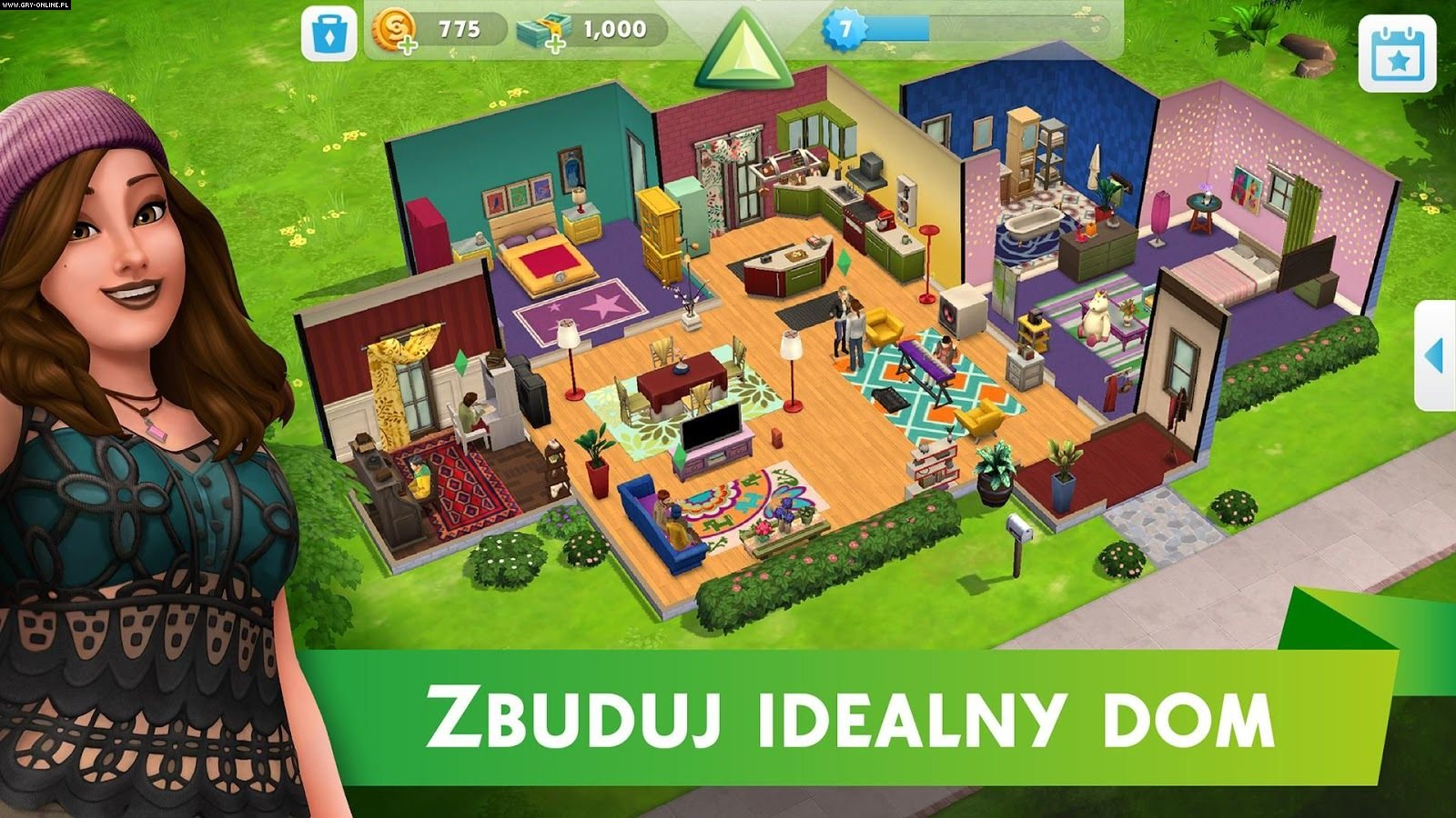 The Sims Mobile AND, iOS Gry Screen 2/5, Electronic Arts Inc.