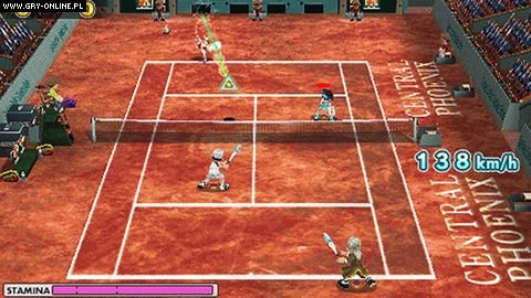Everybody's Tennis PSP Gry Screen 3/16, Clap Hanz, Sony Interactive Entertainment
