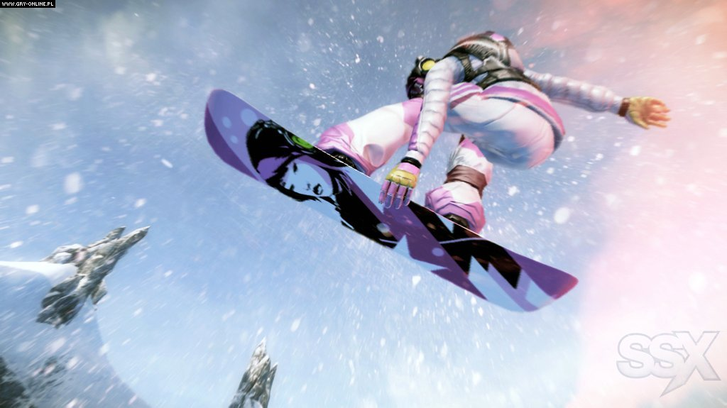 SSX X360 Gry Screen 54/54, EA Sports, Electronic Arts Inc.