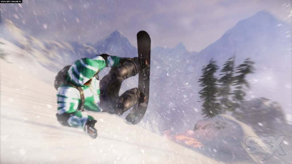 SSX X360 Gry Screen 50/54, EA Sports, Electronic Arts Inc.