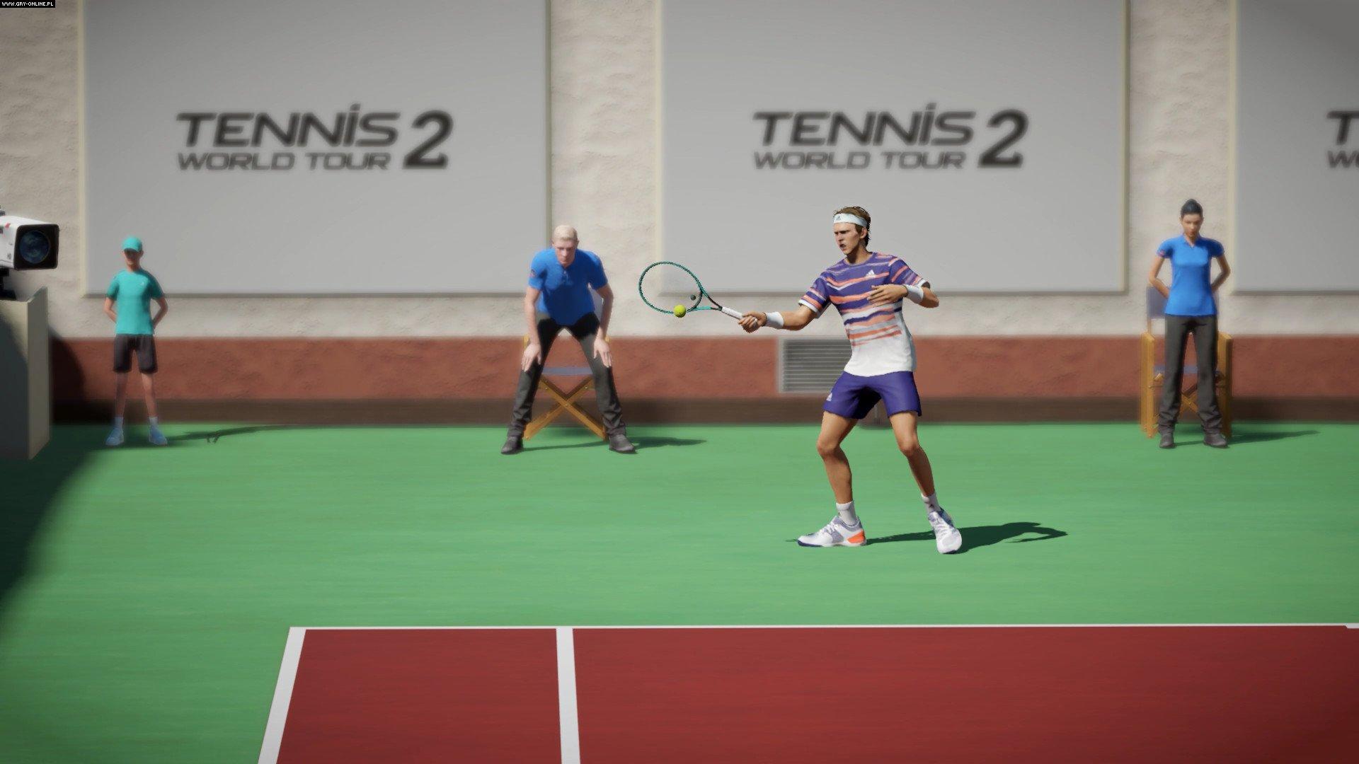Tennis World Tour 2- game,