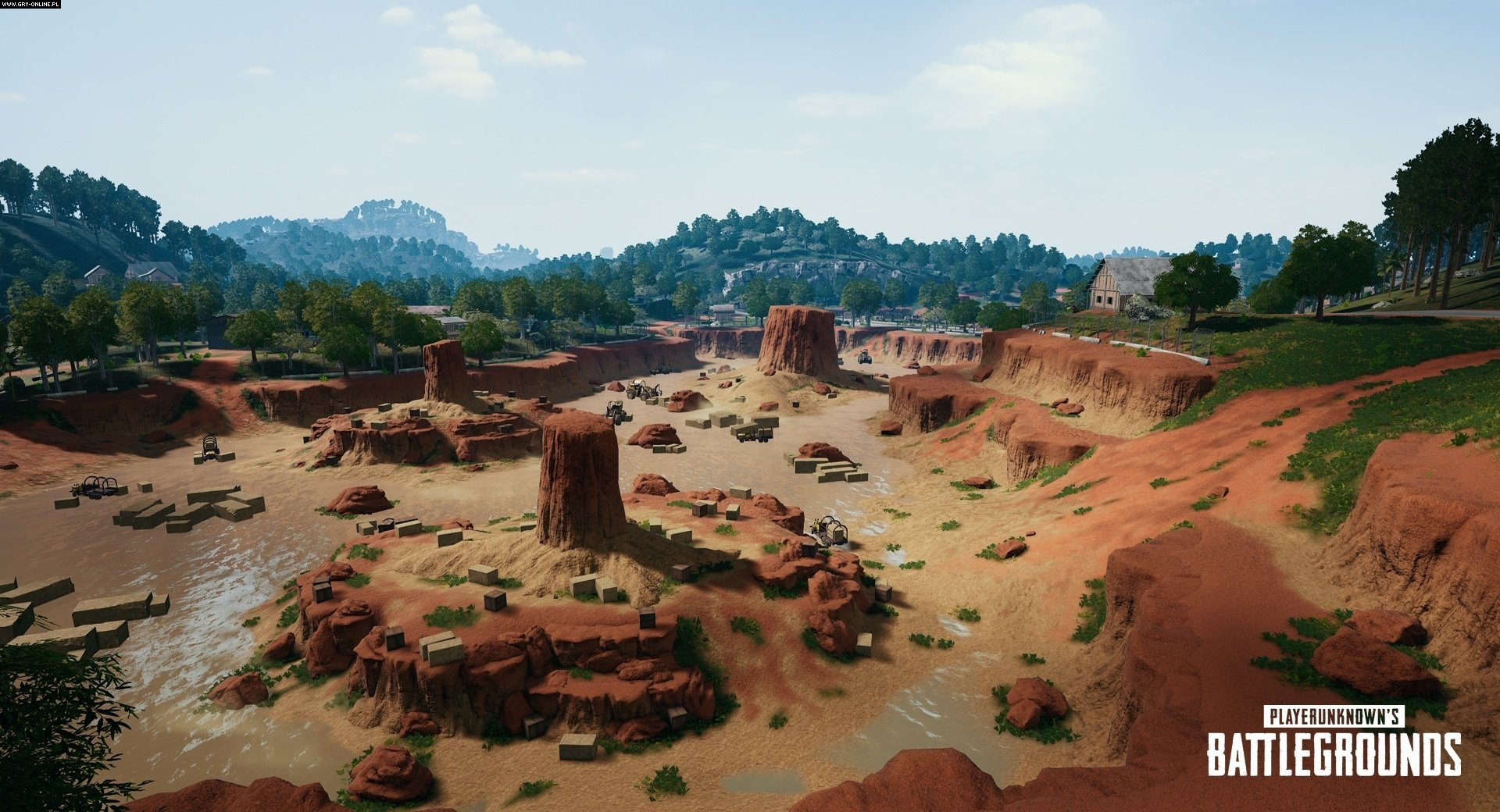 Playerunknown's Battlegrounds PC, XONE Gry Screen 4/60, PUBG Corporation, Bluehole
