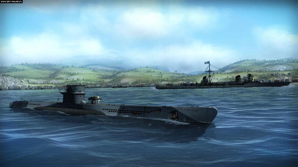 silent hunter 5 как сесть в лодку
