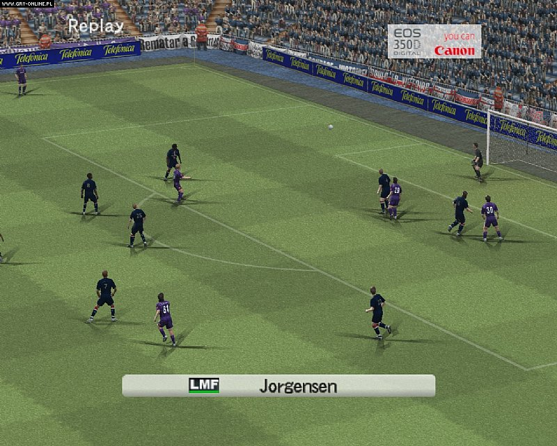 Screenshots gallery - Winning Eleven: Pro Evolution Soccer 2007, screenshot 20 / 54