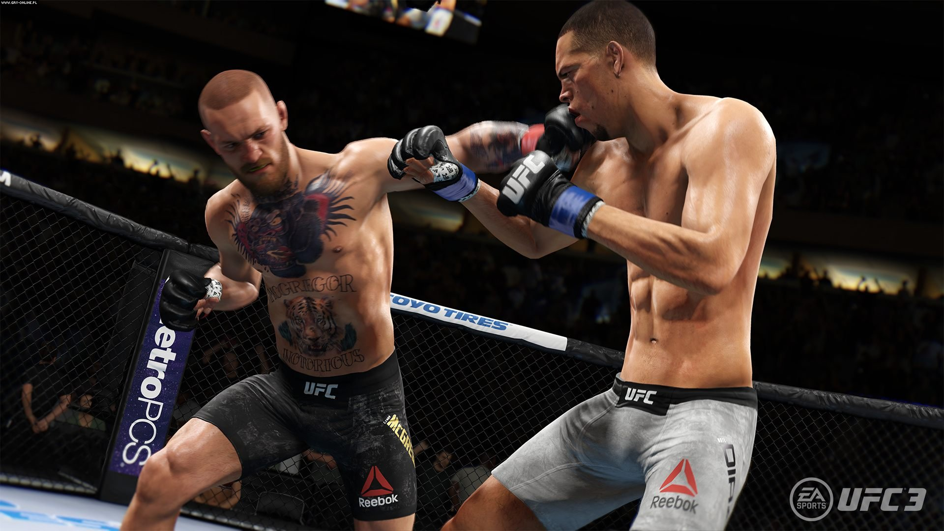EA Sports UFC 3 PS4, XONE Gry Screen 7/8, EA Sports, Electronic Arts Inc.