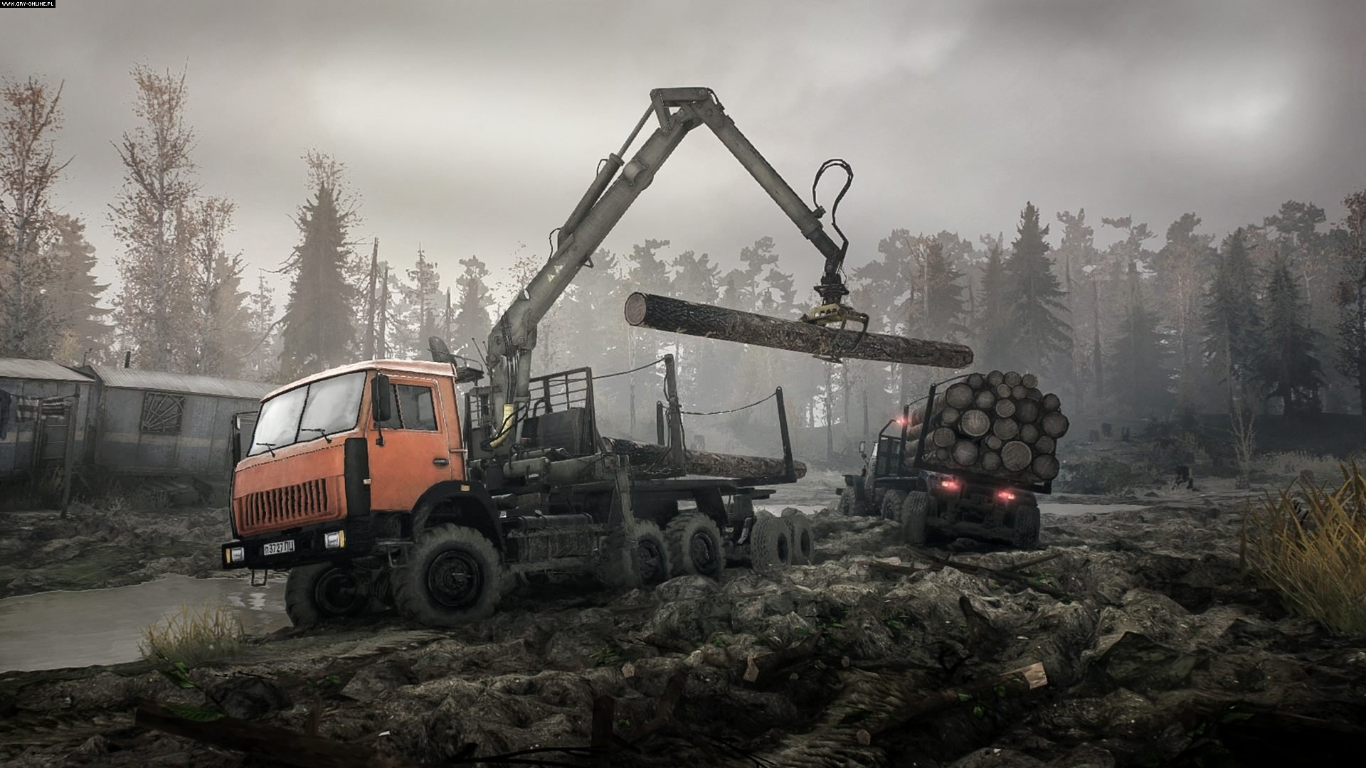 Spintires: MudRunner PC, PS4, XONE Gry Screen 5/8, Saber Interactive, Focus Home Interactive