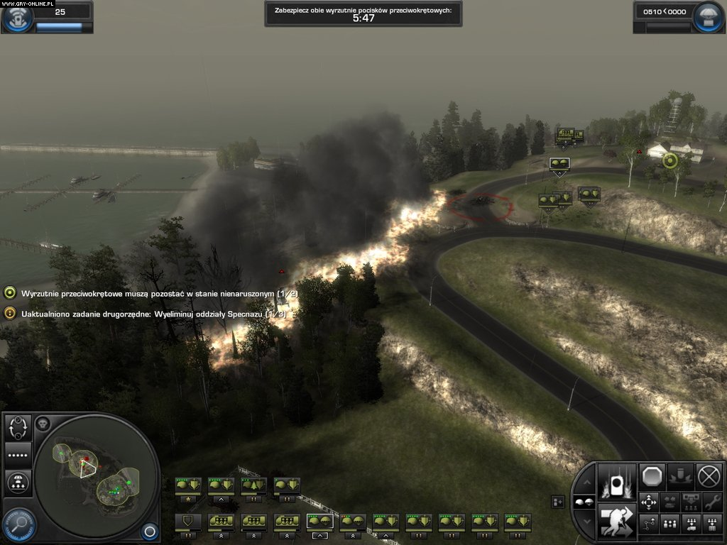World in Conflict PC Gry Screen 4/60, Massive Entertainment / Ubisoft Massive, Sierra