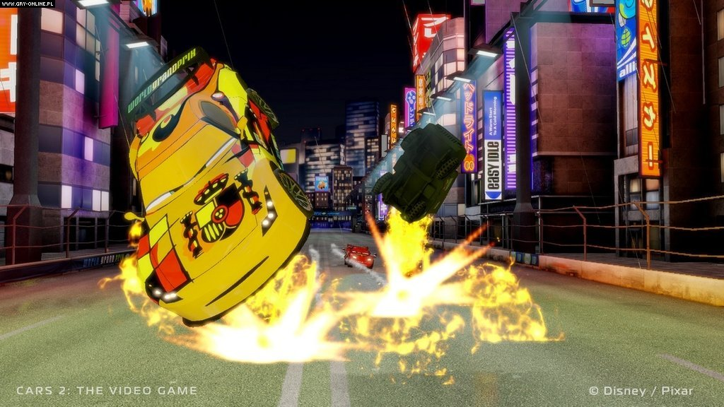 Auta 2 (gra), Cars 2: The Video Game - screen 10/14, Obrazki z gry, zdj�cie z gry w wersji X360, wy�cigi i rajdy, Disney Interactive Studios, CDP.pl / CD Projekt, samochodowe, filmy animowane - data publikacji: 2011-03-03 08:30:26 - gry-online.pl