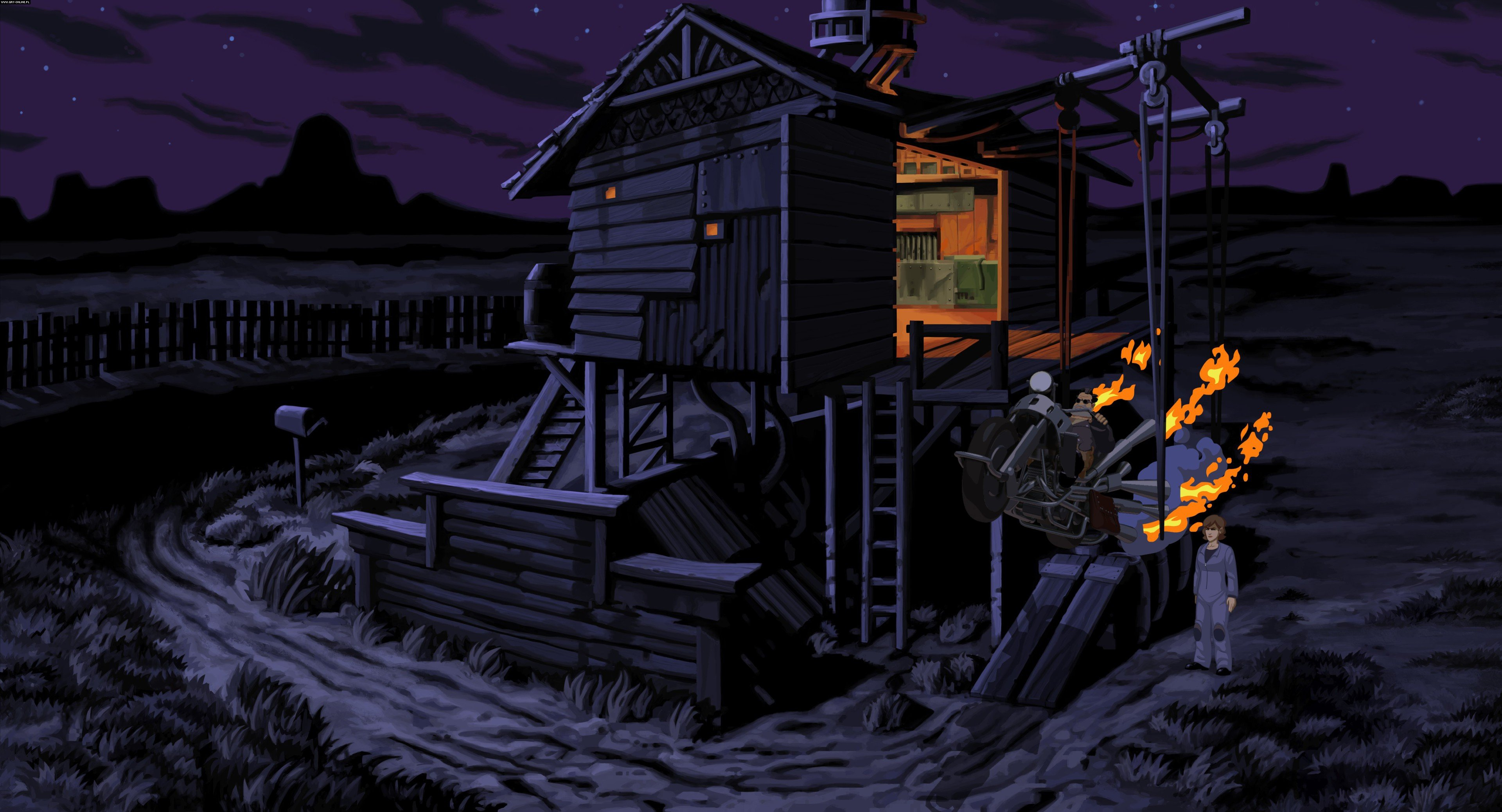 Full Throttle Remastered PC, PSV, PS4 Games Image 4/6, Double Fine Productions, Inc.