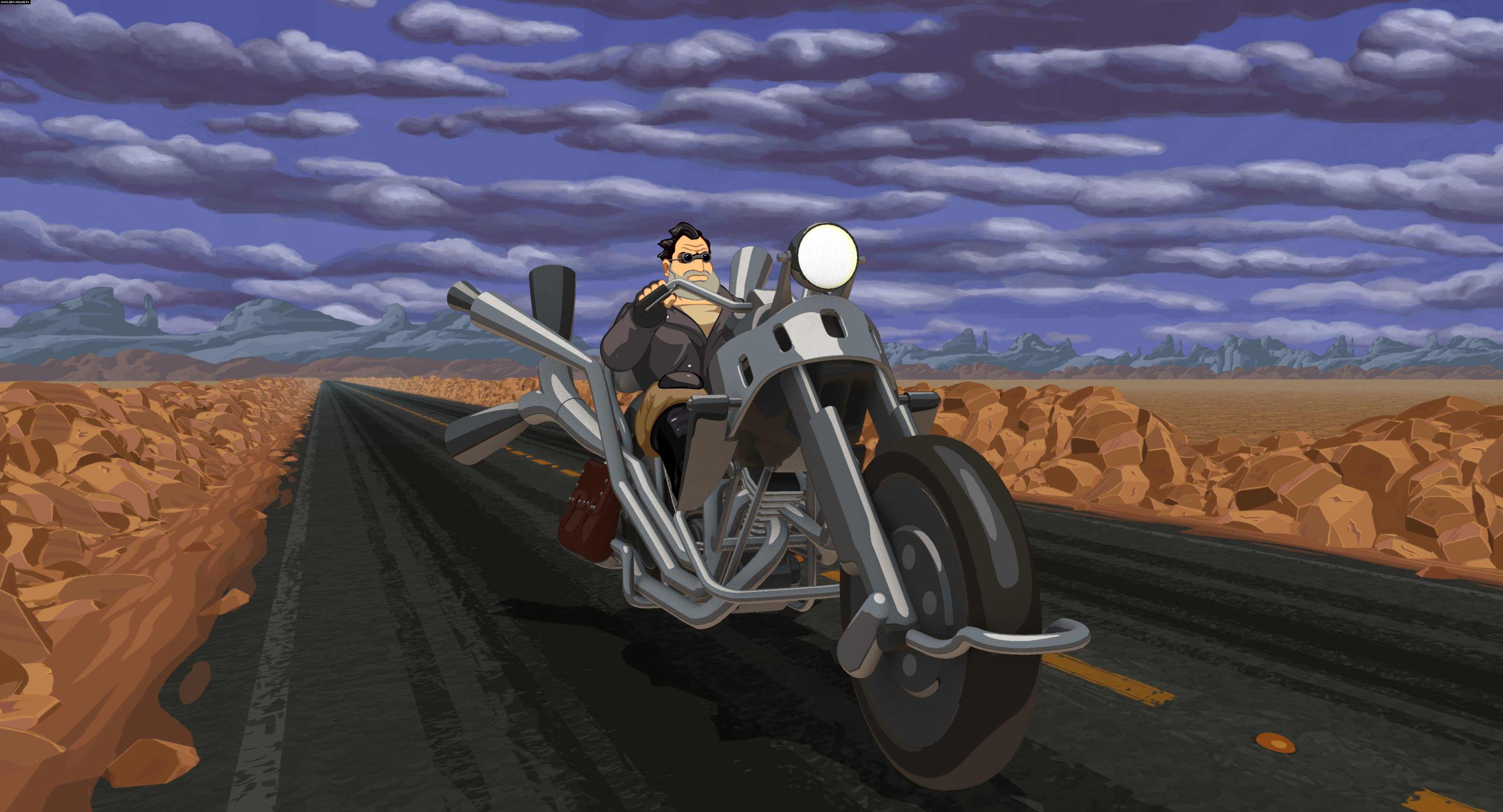 Full Throttle Remastered PC, PSV, PS4 Games Image 2/6, Double Fine Productions, Inc.