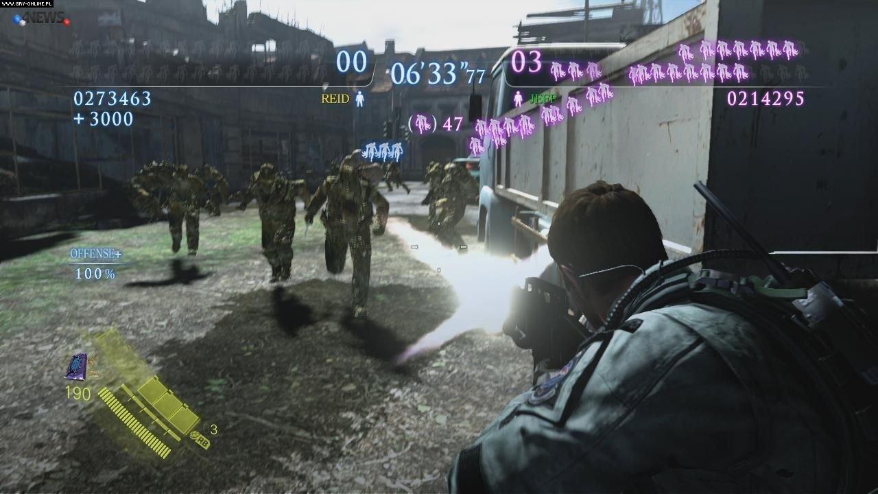 Resident Evil 6 gameplay ps3,