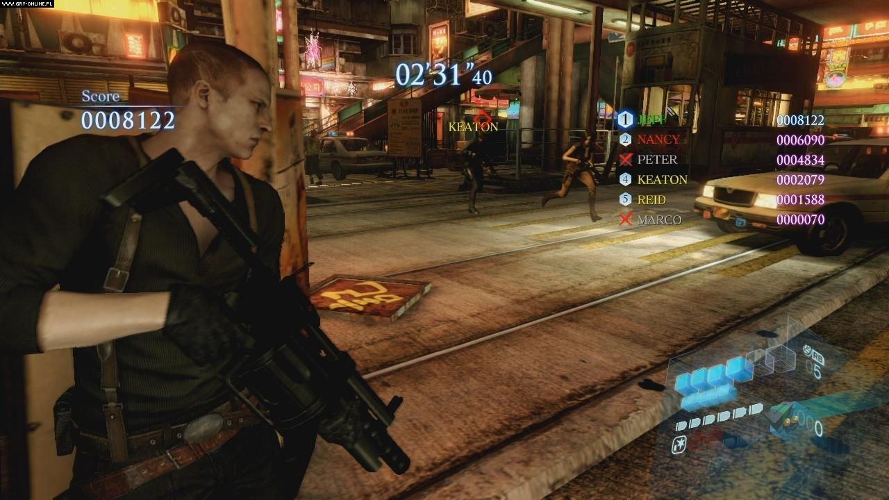 Resident Evil 6 gameplay ps3