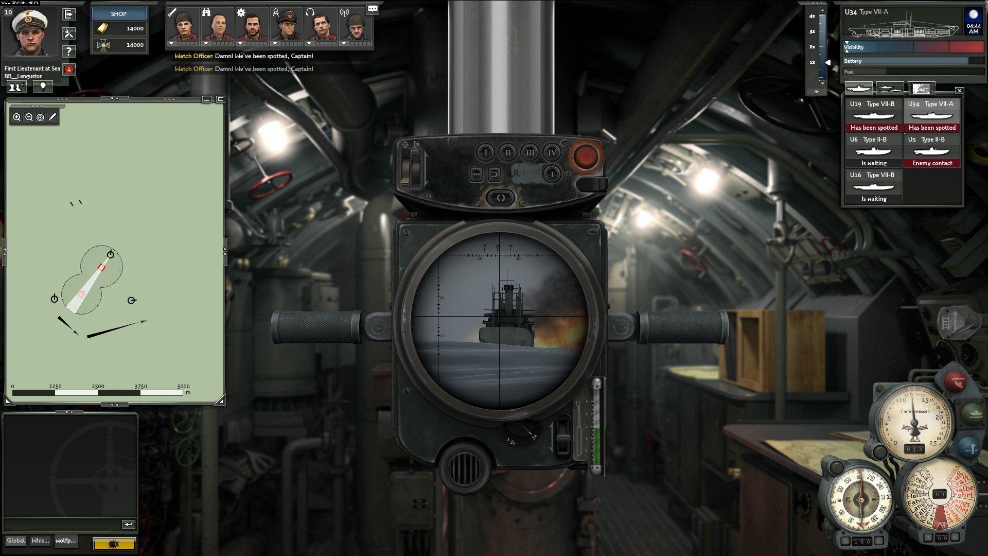 silent hunter online screen z gry 6 8 www ilustracja pochodzi z gry