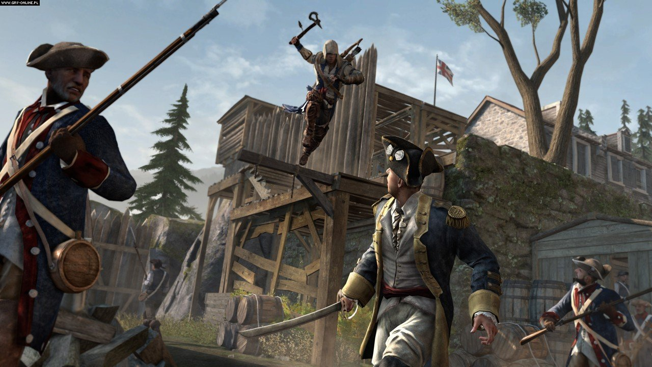 Assassin's Creed III PC, X360, PS3, WiiU Games Image 56/101, Ubisoft