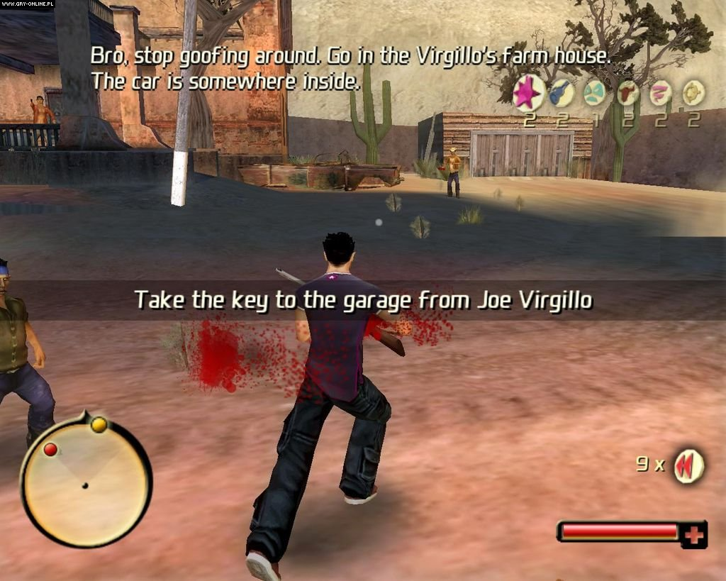Total Overdose: A Gunslinger's Tale in Mexico PC Gry Screen 20/105, Deadline Games , Square-Enix / Eidos