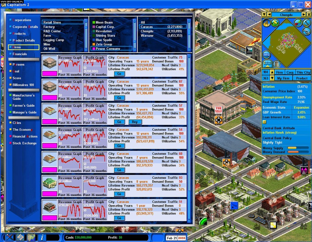Capitalism ii capitalism lab galeria screenshot w for Capitalism ii