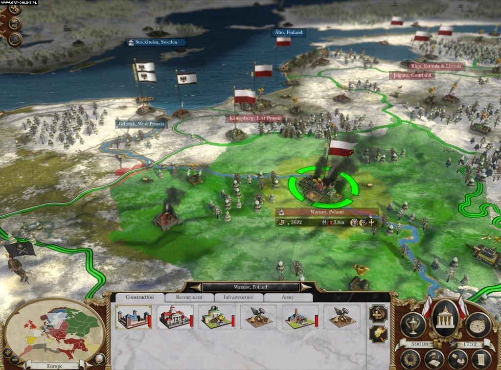 Установленная лицензионная версия игры empire: total war