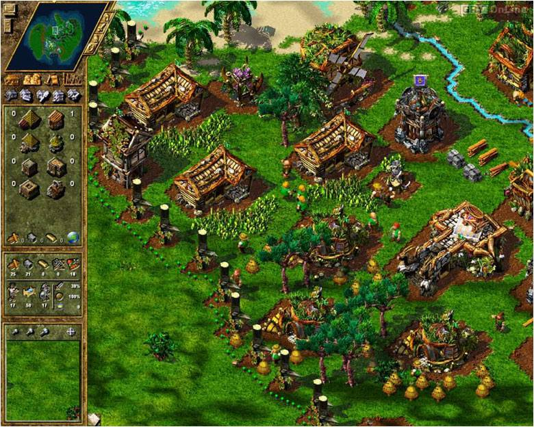 The Settlers Iv The New World Screenshots Gallery