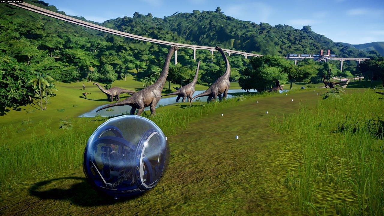 Jurassic World Evolution-gameplay