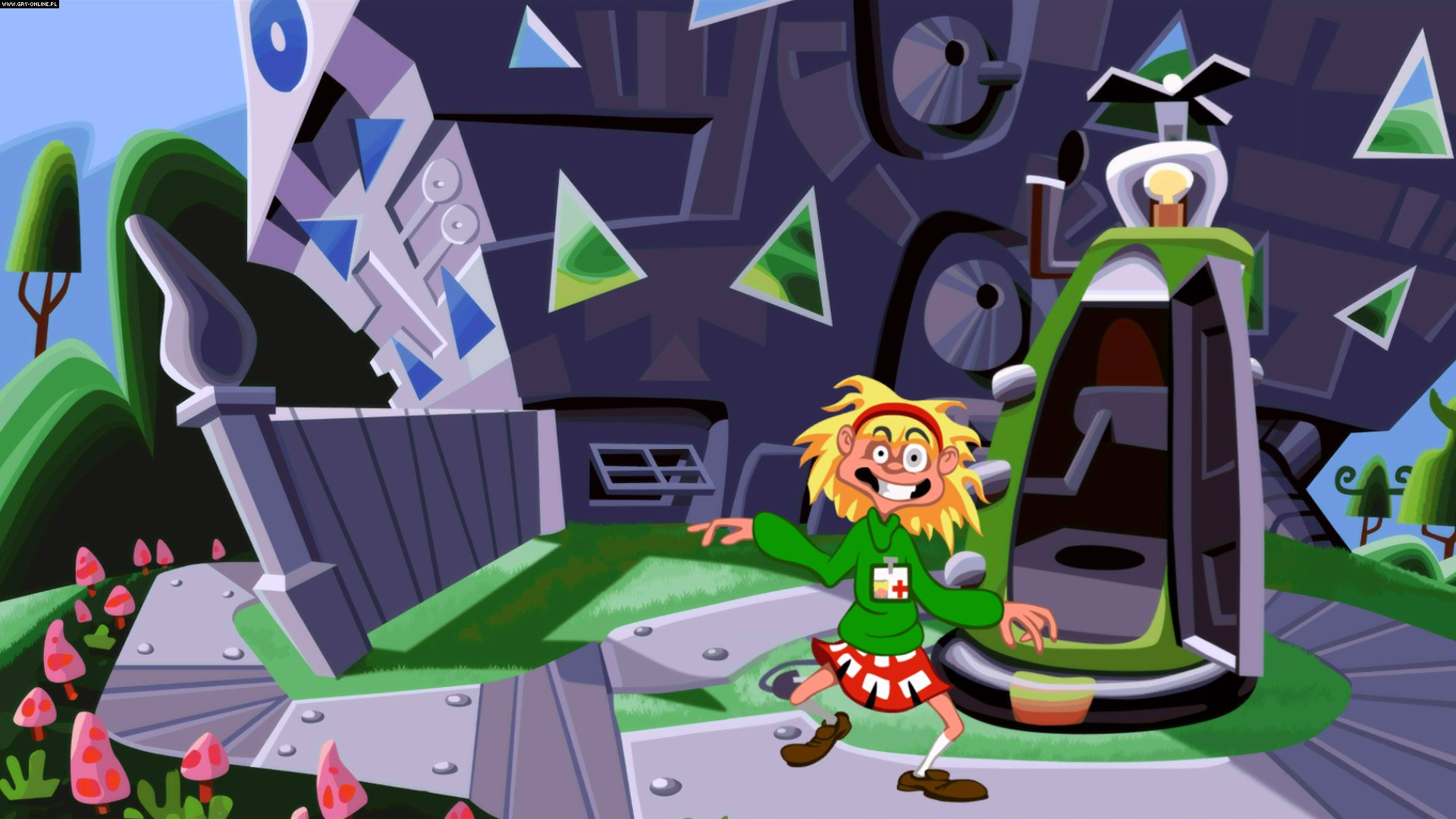 Day of the Tentacle: Remastered PC, PS4, PSV Gry Screen 7/14, Double Fine Productions, Inc.