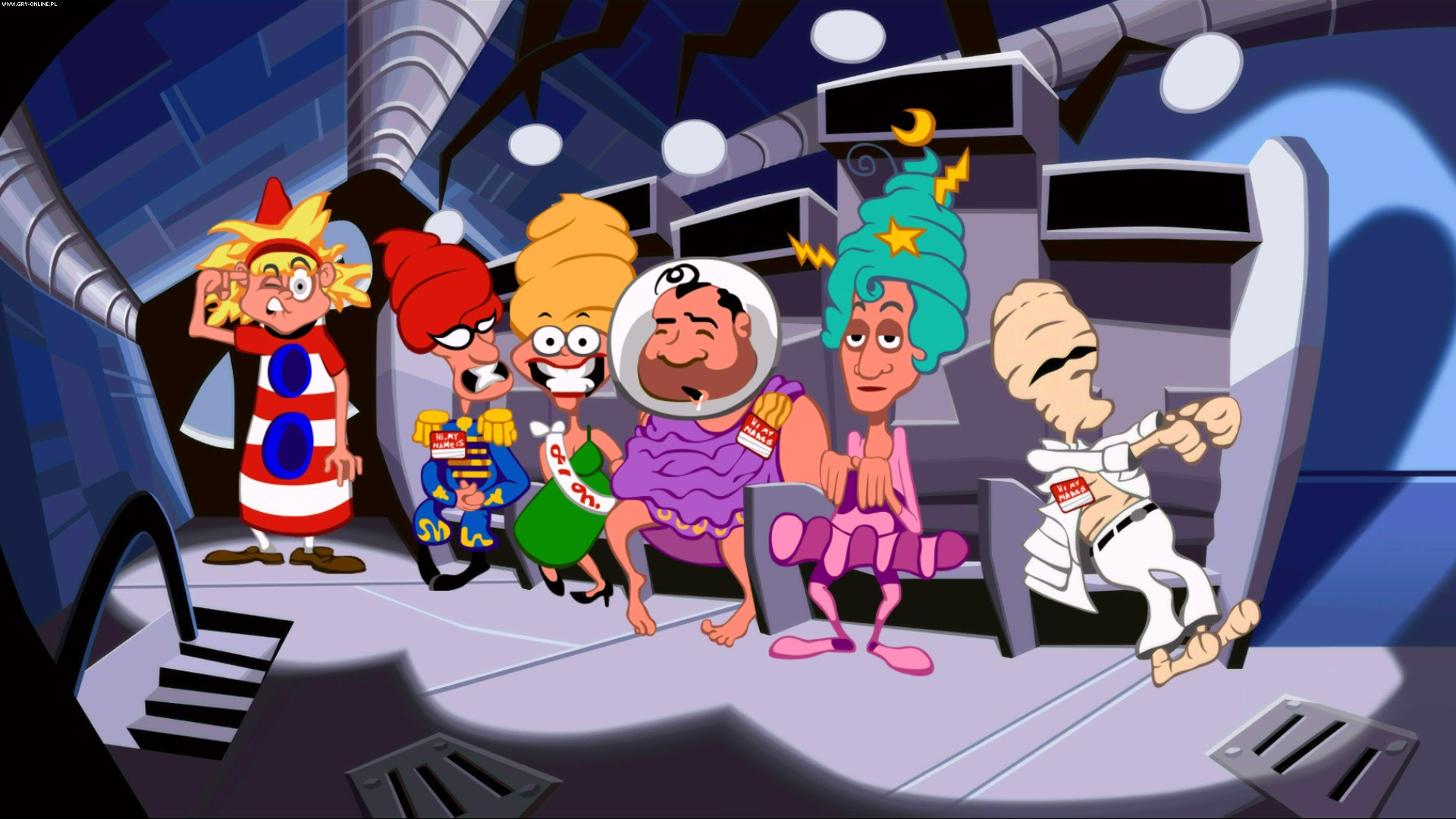 Day of the Tentacle: Remastered PC, PS4, PSV Gry Screen 2/14, Double Fine Productions, Inc.