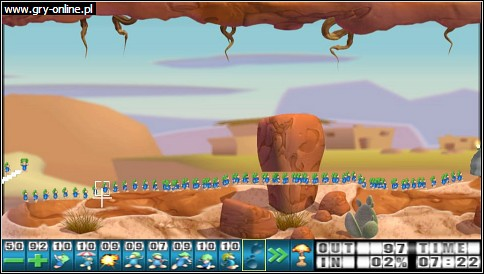 Lemmings (1991) PSP Gry Screen 10/16, Team 17, Sony Interactive Entertainment