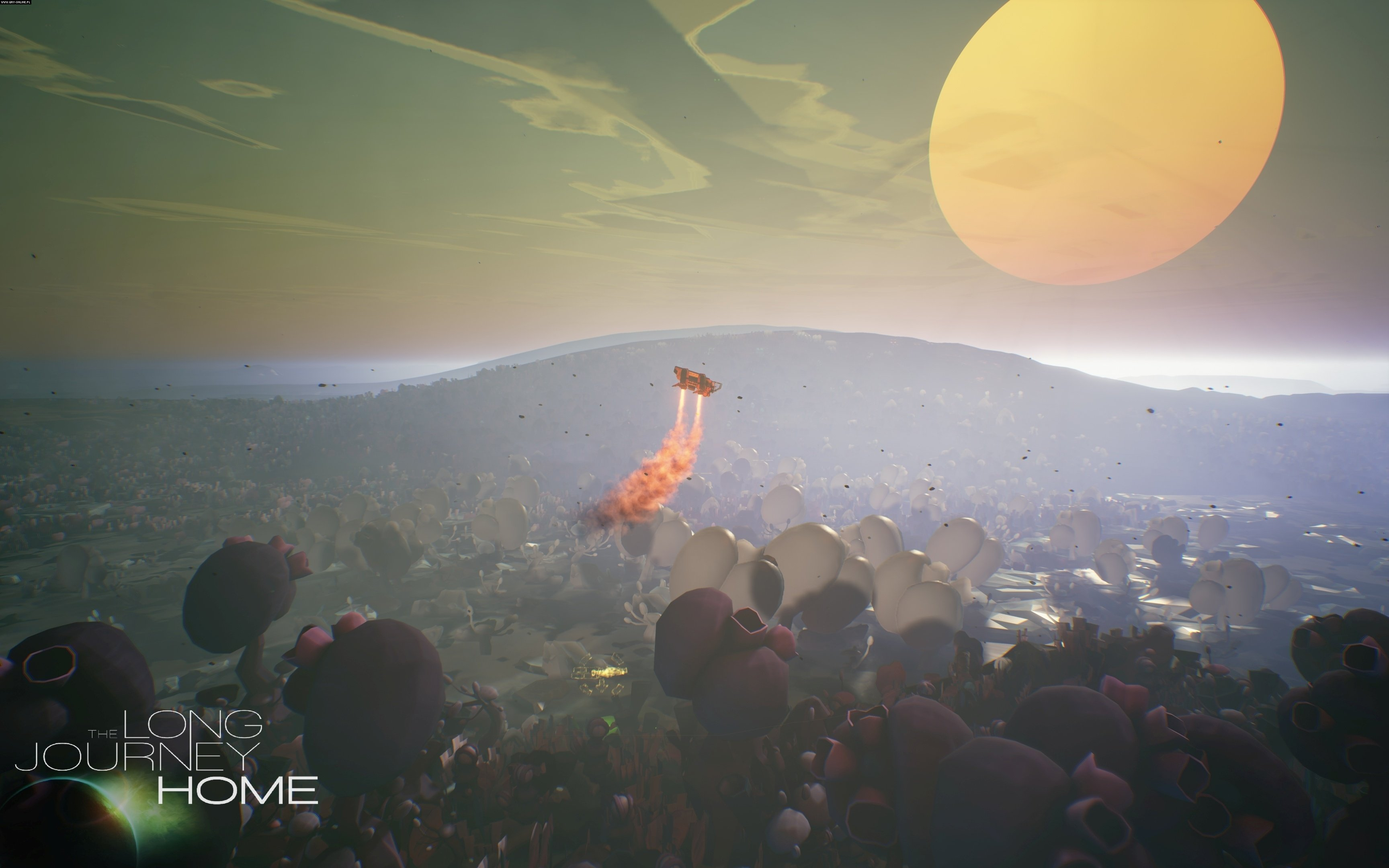The Long Journey Home PC, PS4 Gry Screen 6/20, Daedalic West, Daedalic Entertainment